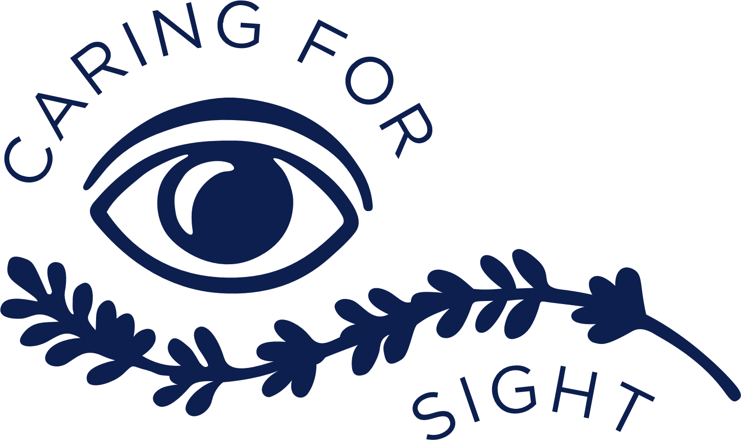 Caring for sight logo