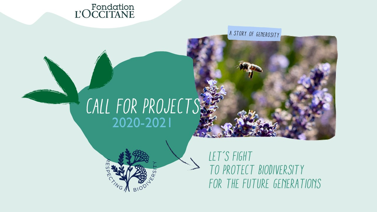 Call for projects respecting biodiversity 2020-2021